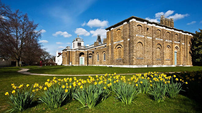File photo: Dulwich Picture Gallery was targeted on Wednesday night