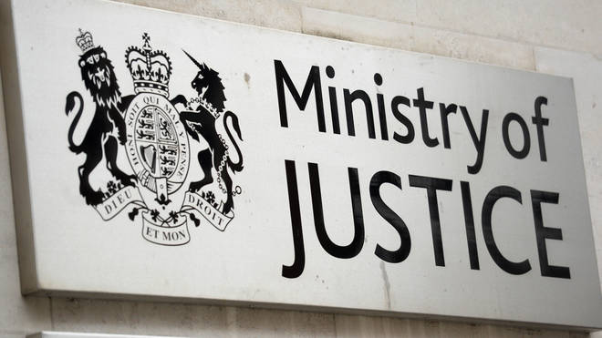 The figures have been released by the Ministry of Justice