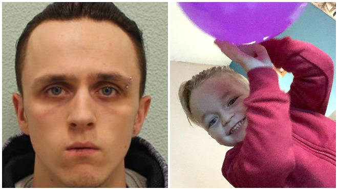 Stephen Waterson crushed Alfie to death using a car seat