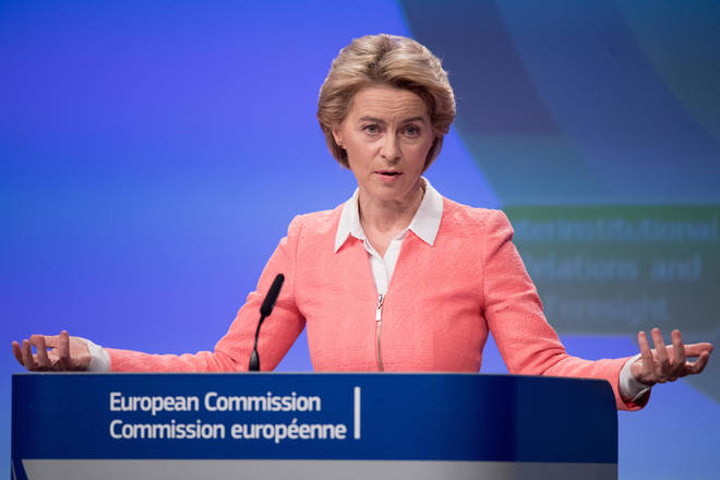 Ms von der Leyen said she wants to form a new commission on 1 December