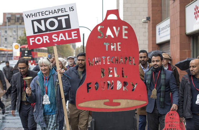 Save The Whitechapel Bell Foundry Protest
