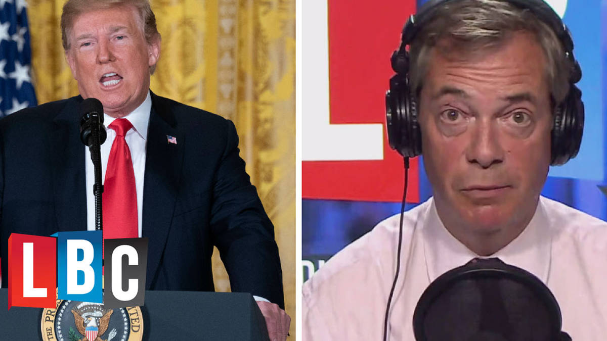 """""""He's A Dirty Rat!"""" Caller Stuns Nigel Farage With Huge Anti-Trump Rant"""
