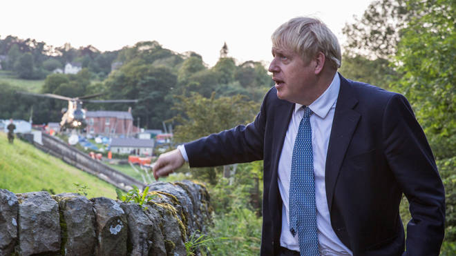 "Boris Johnson has pledged to bring the ""heart"" back to local communities"