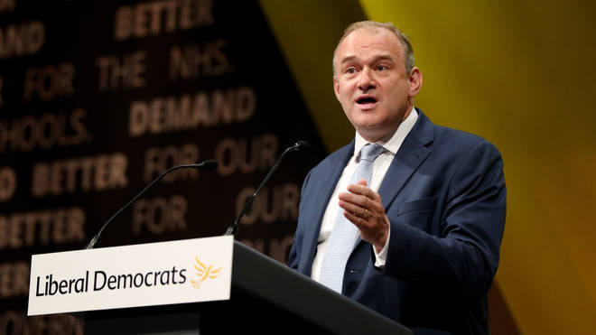 Sir Ed Davey will make the pledge in a speech in Leeds on Friday