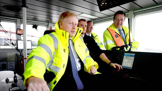 Boris Johnson has said there won't be a hard border between the UK and Ireland