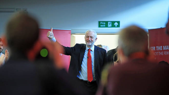 The Labour leader gave his plans a thumbs up
