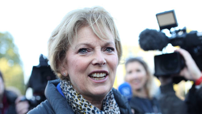 Anna Soubry was sent the letter to her constituency office