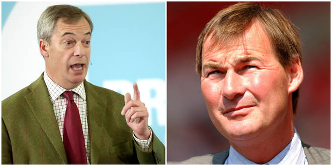 Nigel Farage has slammed a Brexit Party candidate who stood aside at the 11th hour