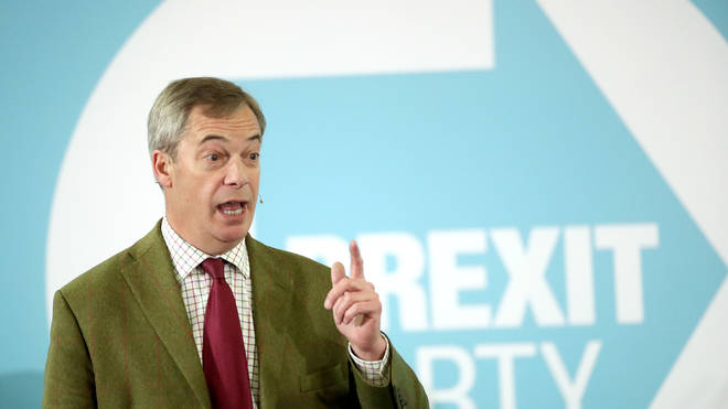 Nigel Farage is not happy after one of his candidates stood down after the party could nominate another