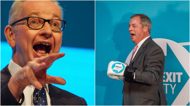 Tory Minister Michael Gove says his party has not offered Nigel Farage a peerage