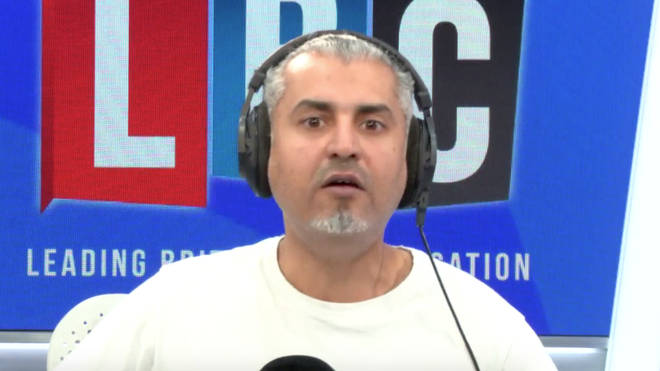 Maajid Nawaz got really frustrated by this caller
