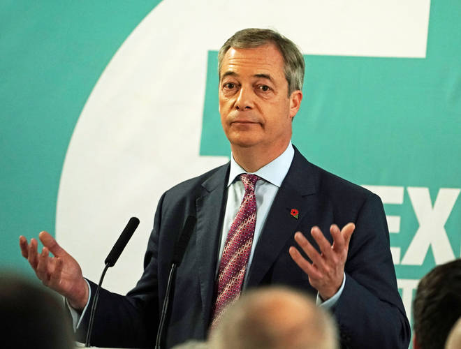 The Brexit Party leader did not have a confident prediction for Nigel Farage