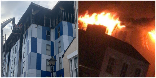 Firefighters have slammed UK fire safety regulations following a student block of flats going up in flames in Bolton