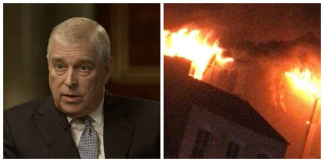 Prince Andrew and the Bolton flat fire