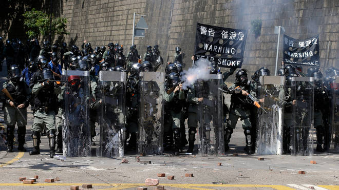 Civil unrest has continued in Hong Kong