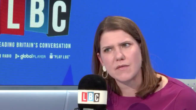 Jo Swinson was commenting on an interview by the Duke of York