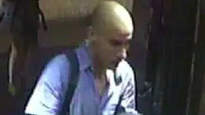Police released an initial picture of the man in early October
