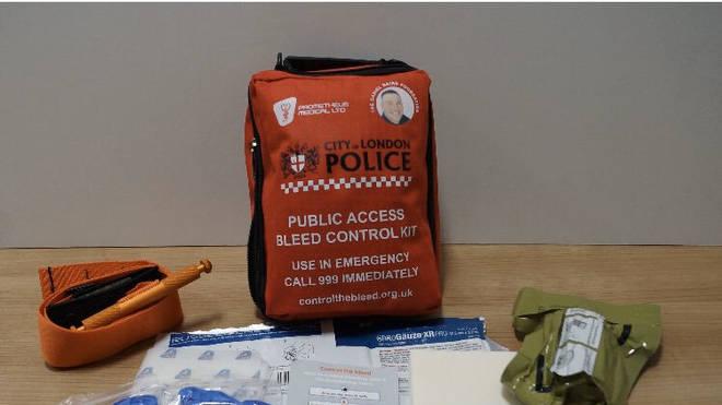 The bleeding control kit