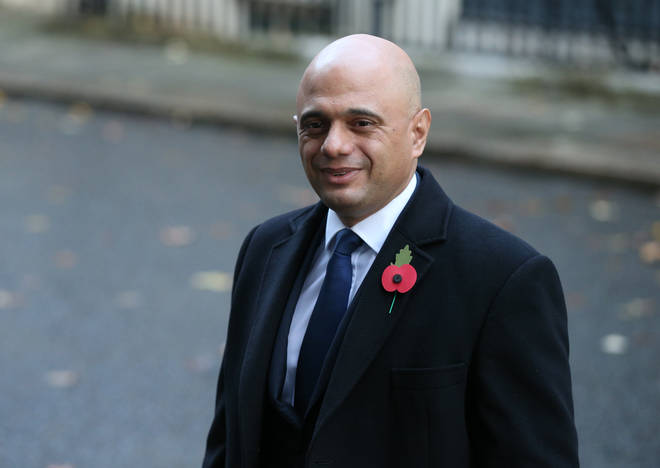 The caller challenged the validity of the document Sajid Javid put forward