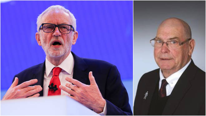 "Mr Thomas branded Jeremy Corbyn a ""clown"""