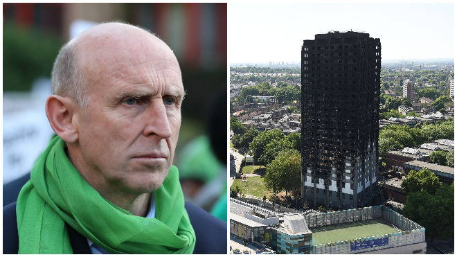 "Labour&squot;s John Healey said the inaction since Grenfell is ""shameful"""