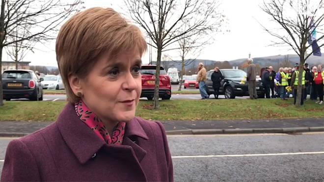 Nicola Sturgeon wants a separate debate between her and Boris Johnson