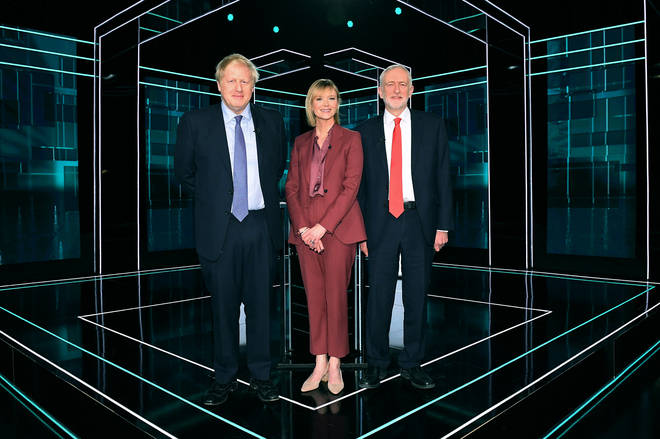 The ITV debate took place in Manchester