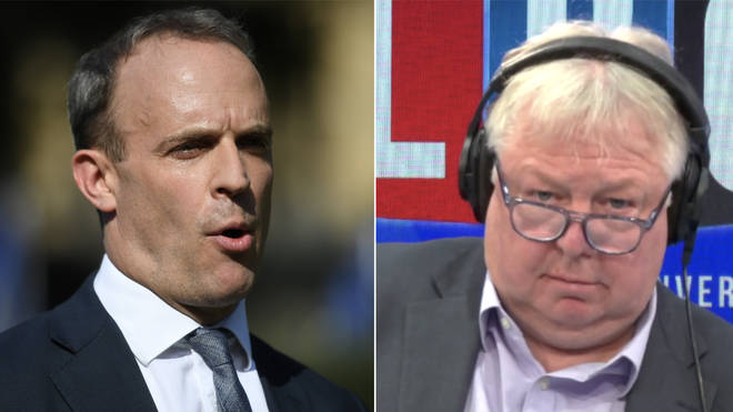 Nick Ferrari grilled Dominic Raab over the election debate