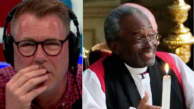 Ian Collins spoke to Bishop Michael Curry