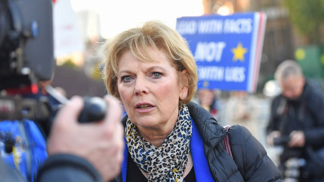 Anna Soubry quit the Tories in February due to abuse