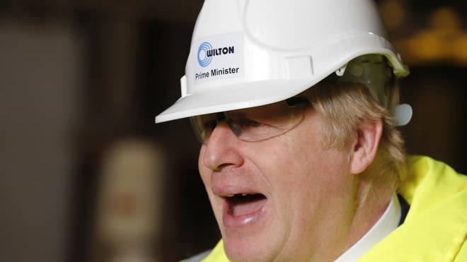 Boris Johnson's plans were also launched