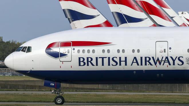 British Airways flights are facing delays