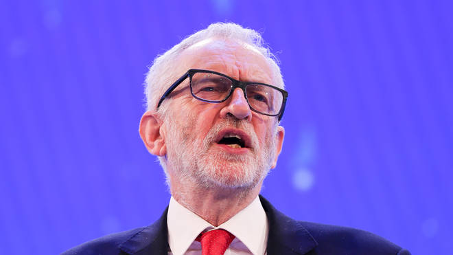 Mr Corbyn said his government would build 150,000 new homes