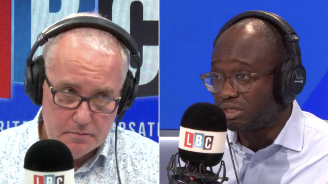 Sam Gyimah's phone-in with Eddie Mair did not go well