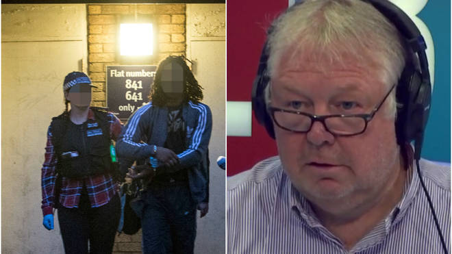 Nick Ferrari praised the police over the pre-Carnival arrests