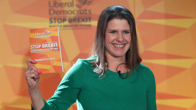 Jo Swinson unveils the Lib Dem manifesto
