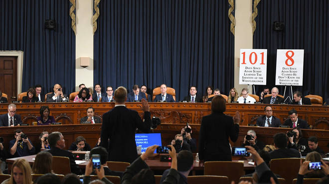 This is the fifth day of the impeachment enquiry