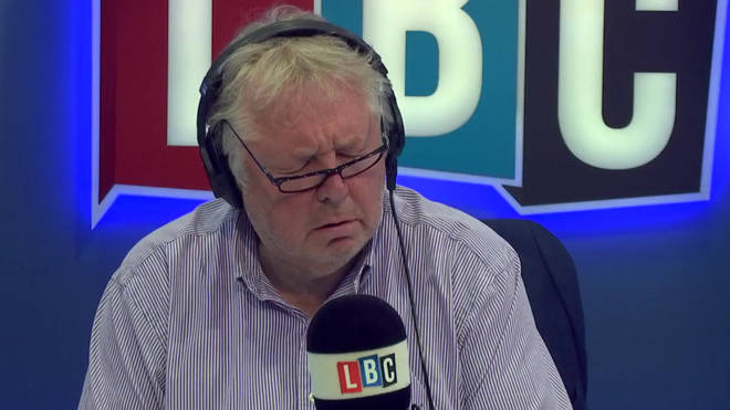 Nick Ferrari winces after hearing Olivia's story