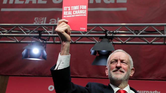 Labour launched its manifesto on Thursday