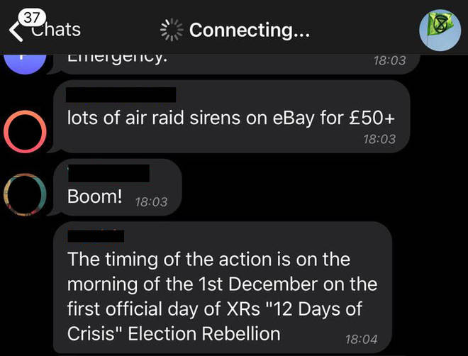 "The organisers reveal the ""12 days of crisis"" plan"