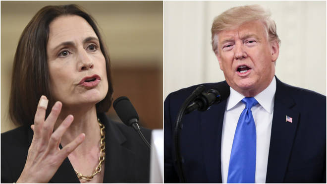 Fiona Hill has been testifying to the Donald Trump impeachment inquiry.