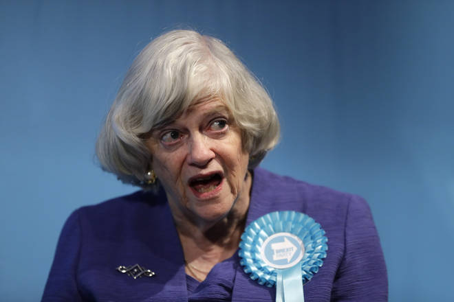 Ann Widdecombe was present at the contract launch