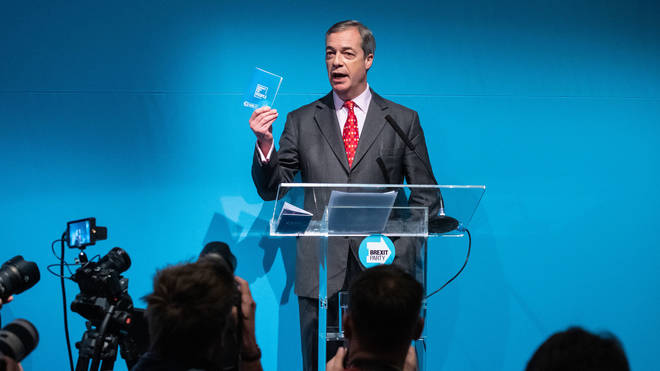 Mr Farage said he would ensure the NHS remains publicly owned