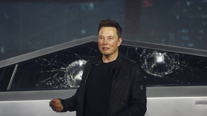Not everything went to plan for Elon Musk at the launch of his new pickup truck