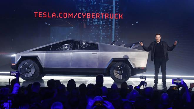 The futuristic car is 100 per cent electric