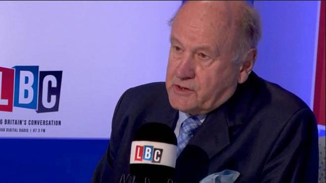 Lord Stevens on LBC