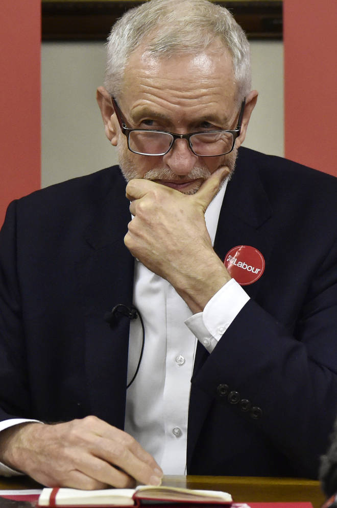 Jeremy Corbyn admitted he would be neutral in a second referendum