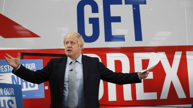 Boris Johnson said Brexit had corroded trust in politicians