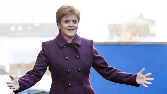 Nicola Sturgeon was asked about Scottish independence