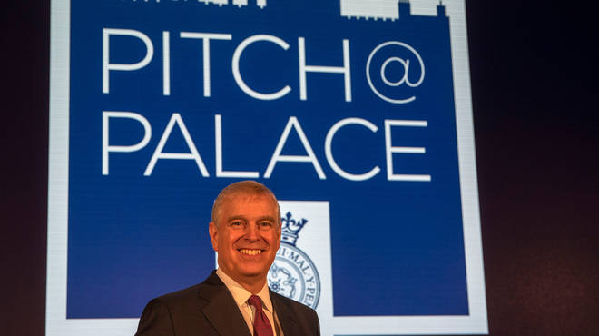 Prince Andrew founded the Pitch@Palace initiative
